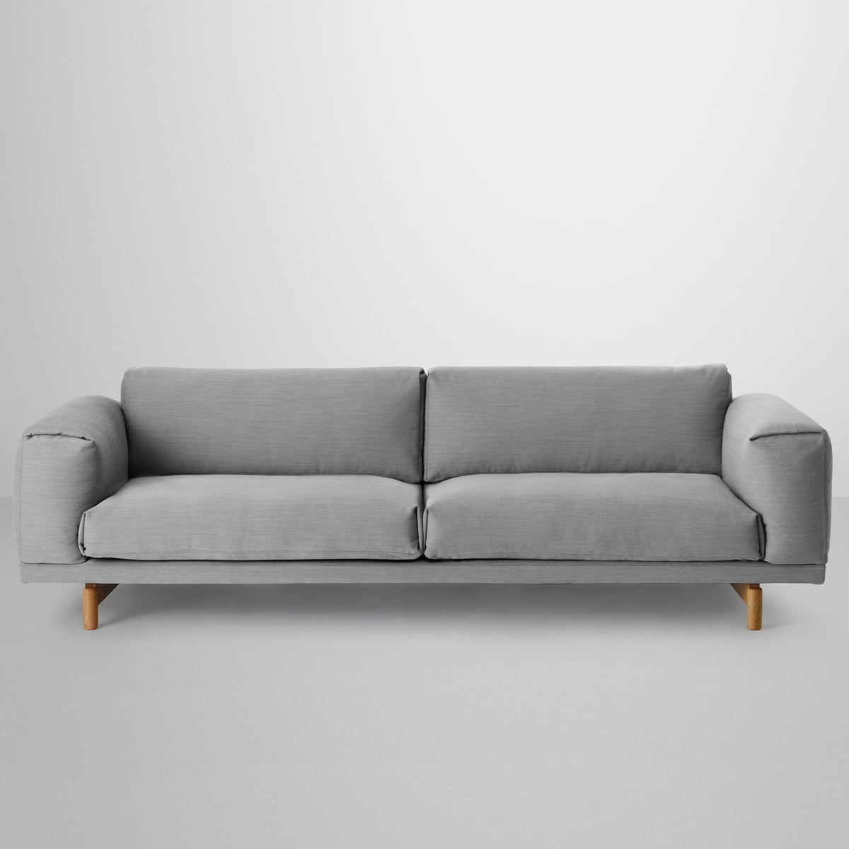 rest sofa 3 seater by muuto in the shop. Black Bedroom Furniture Sets. Home Design Ideas