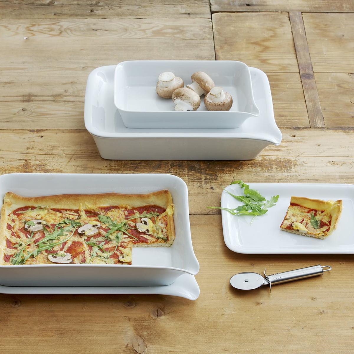 kahla magic grip baking dish and menu plate - kahla  magic grip baking dish and menu plate