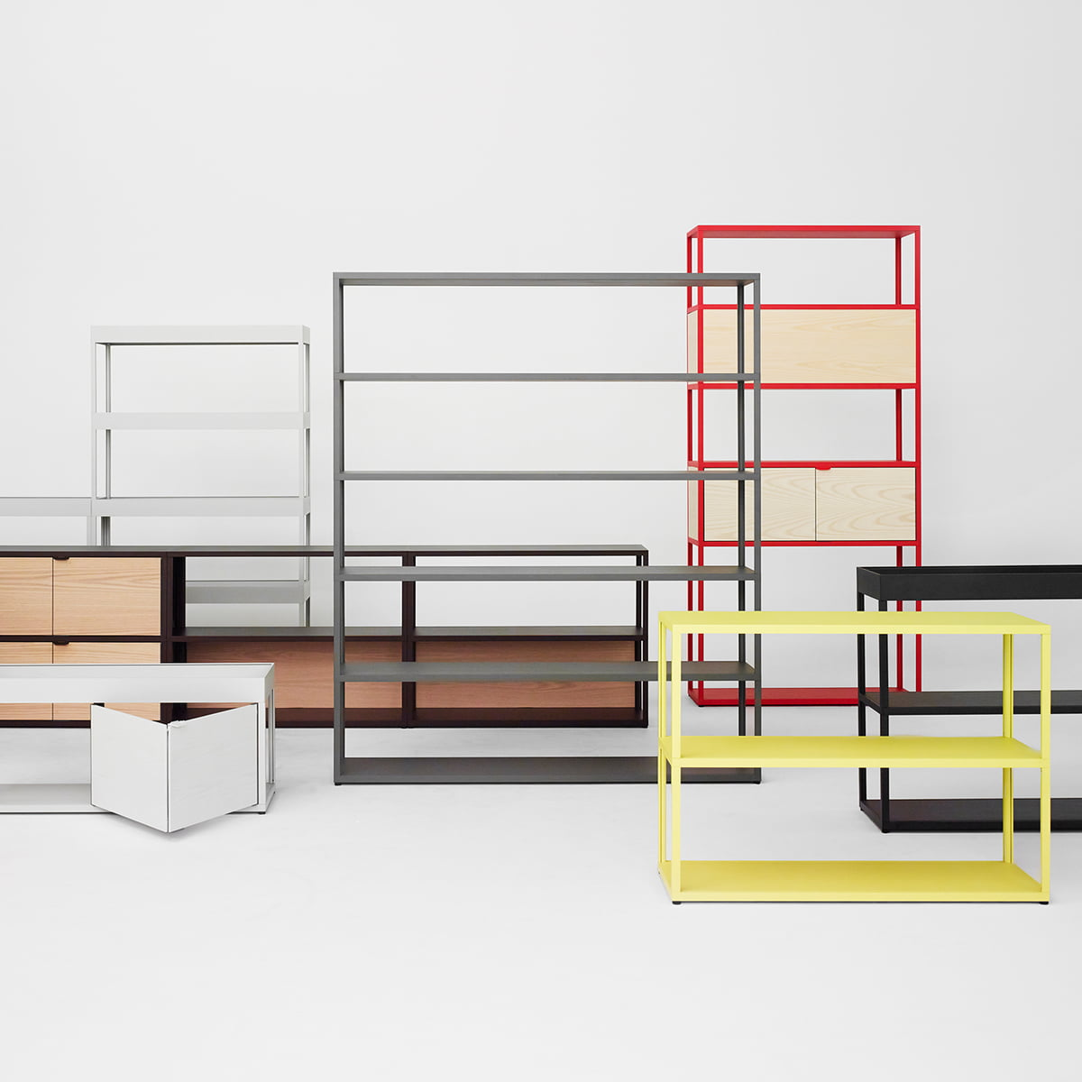 The New Order Shelf by Hay in the design shop