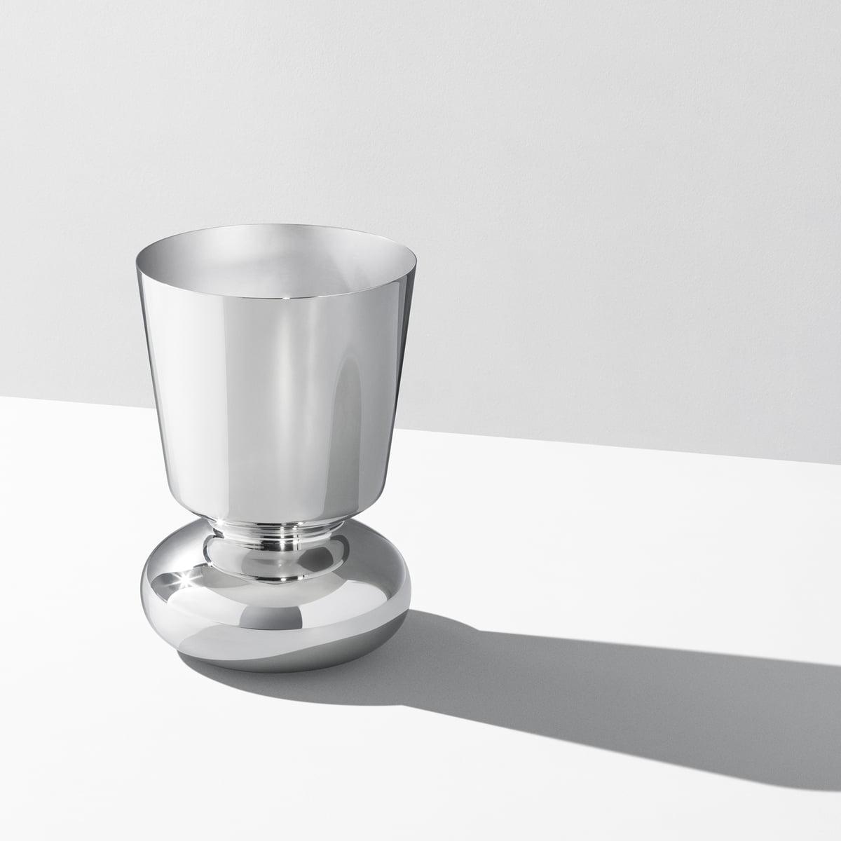 alfredo vase stainless steel by georg jensen - georg jensen  alfredo vase  stainless steel