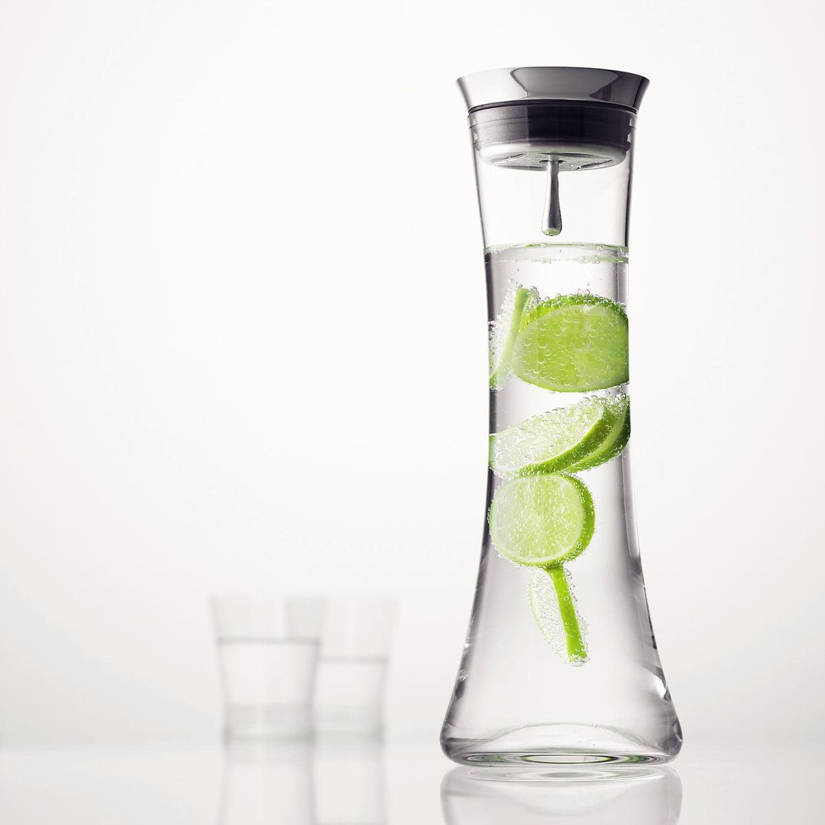 menu water jug with stainless steel lid - menu  water jug stainless steel lid