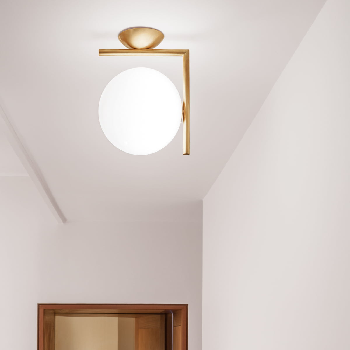 Flos Wall Light: Flos - IC Wall and Ceiling Lamp,Lighting