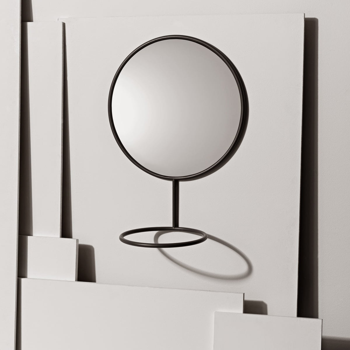 Nomess wall mirror in the home design shop for Reflection miroir