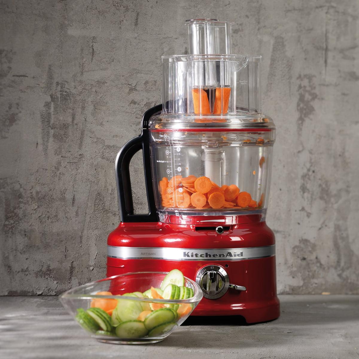 KitchenAid   Artisan Food Processor 4,0 L, Empire Red