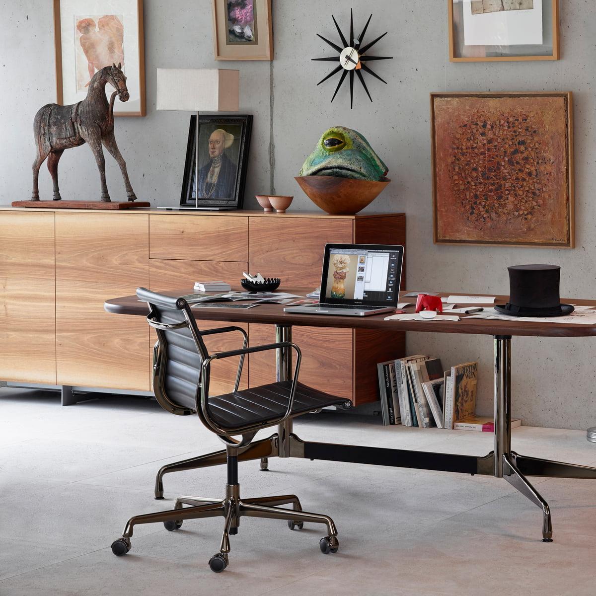 Aluminium Group Ea Office Chair By Vitra
