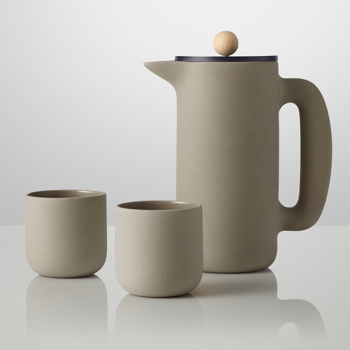 Push cup by muuto in the home design shop for Natural stone coffee mugs