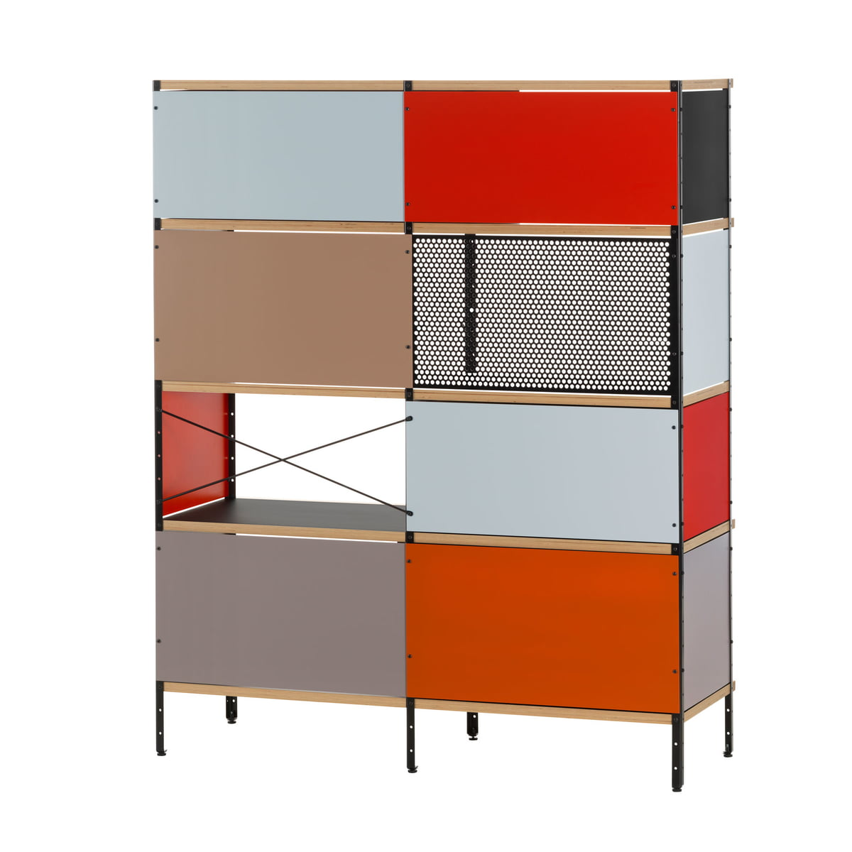 eames storage unit  oh by vitra - the eames storage unit  oh by vitra