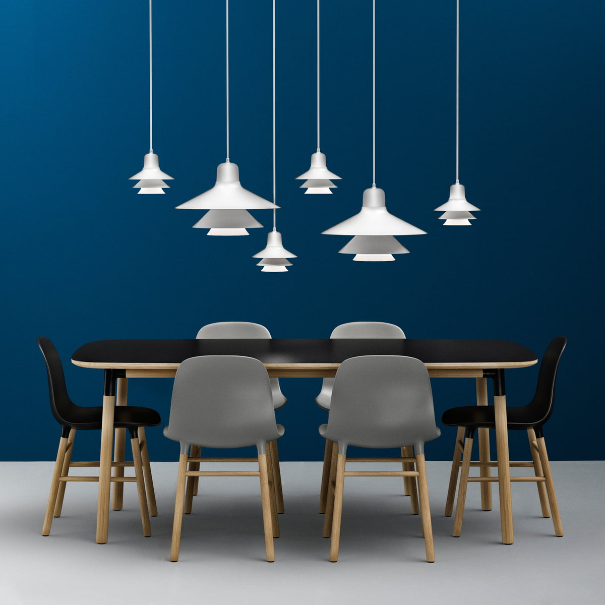 Normann copenhagen form dining table in the shop for Normann copenhagen shop