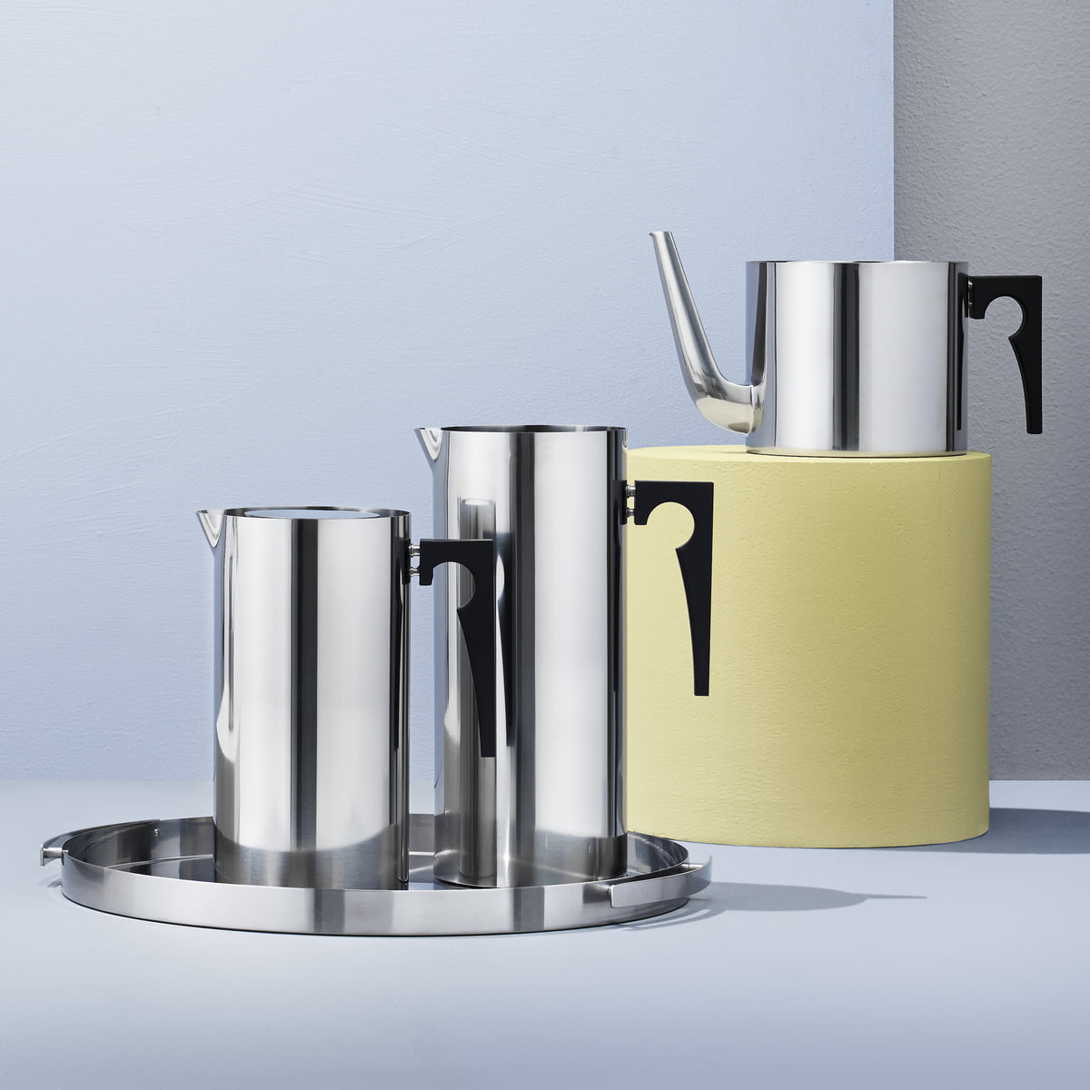 cylinda line coffee maker by stelton. Black Bedroom Furniture Sets. Home Design Ideas