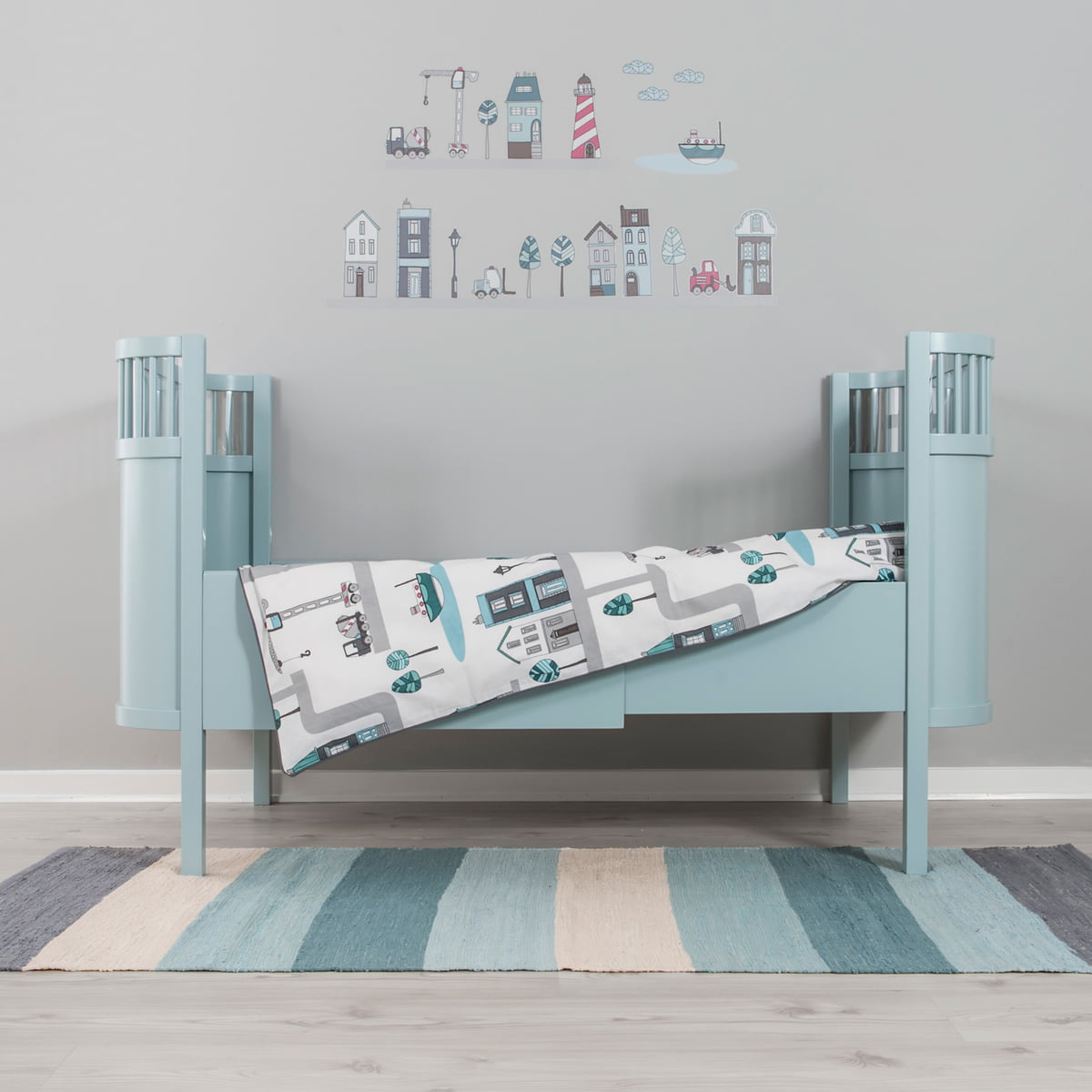 baby bed linen village by sebra at the shop. Black Bedroom Furniture Sets. Home Design Ideas