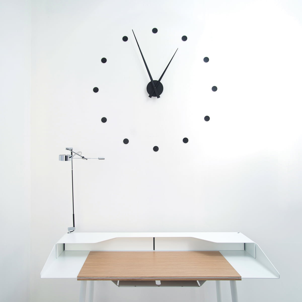 The Flexible Wall Clock By Radius Design, Möbel