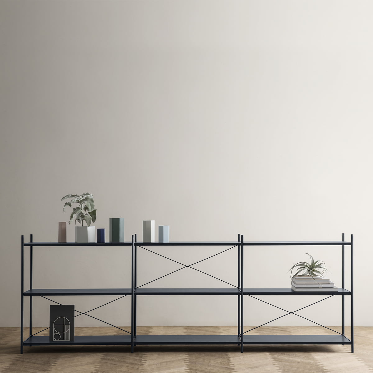 punctual shelving system 3x3 by ferm living in the shop. Black Bedroom Furniture Sets. Home Design Ideas