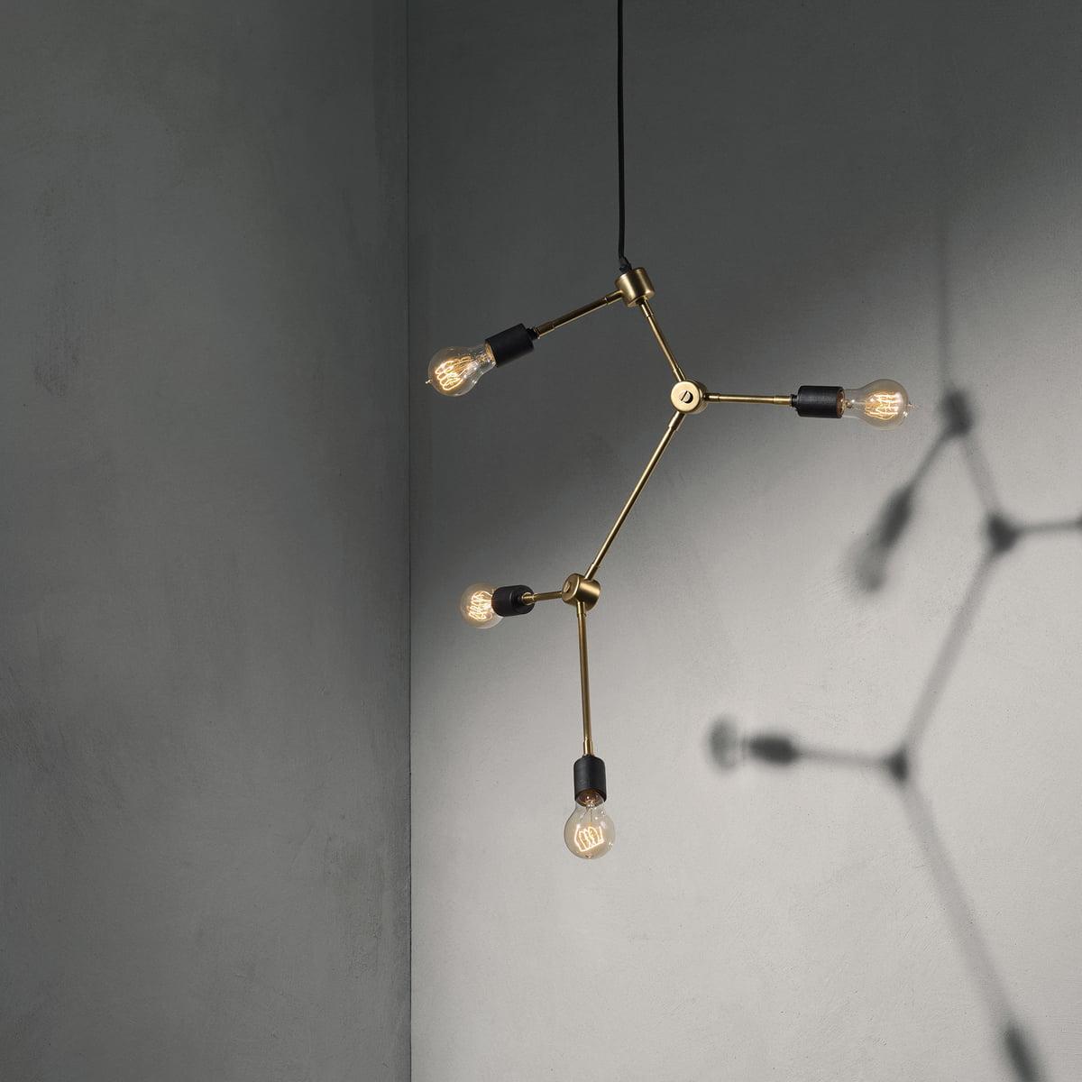 Harrison Chandelier Pendant Lamp By Menu