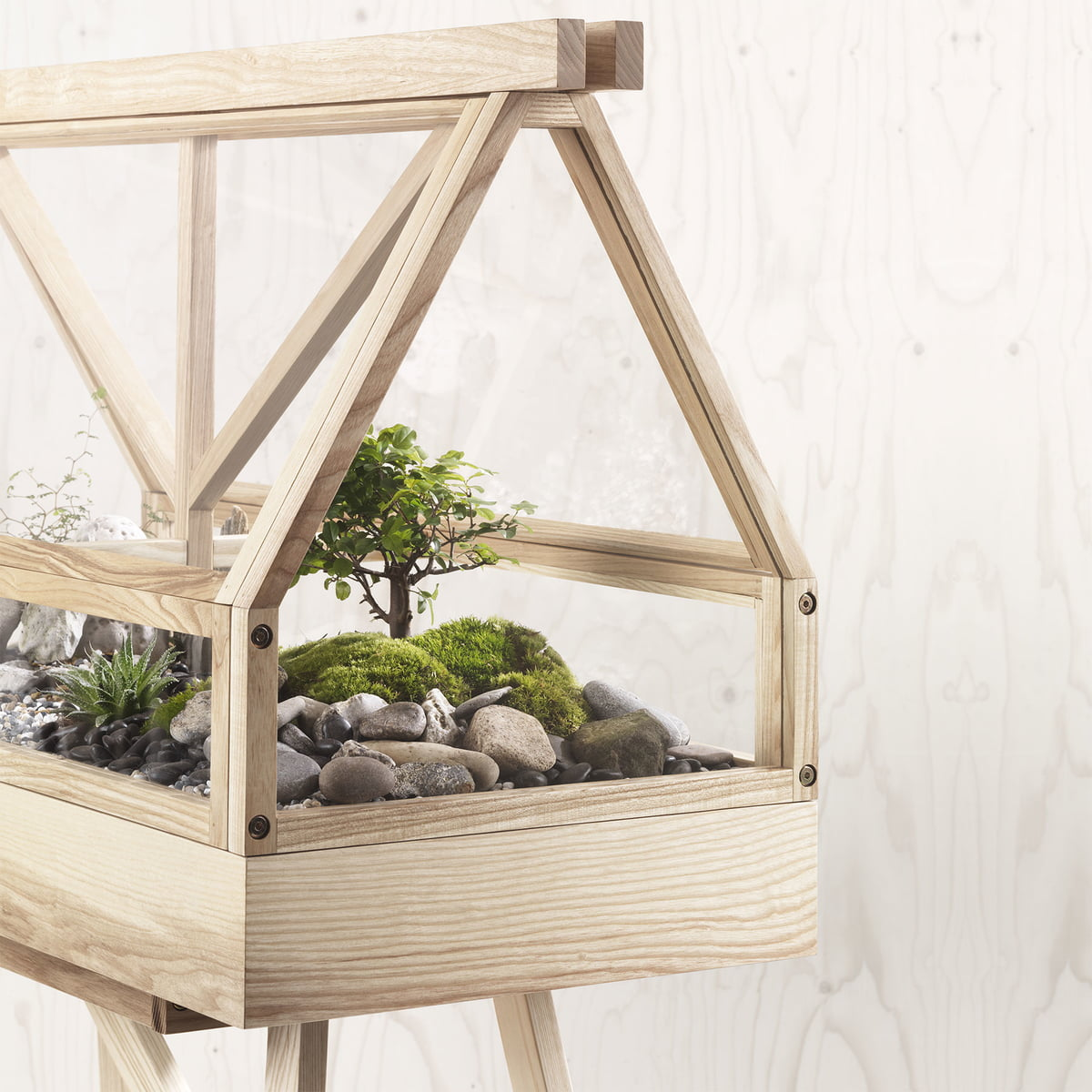 The Greenhouse terrarium by Design House Stockholm - Greenhouse By Atelier 2+ Available Online