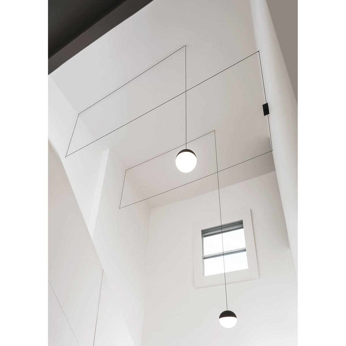 String Light spherical head pendant lamp