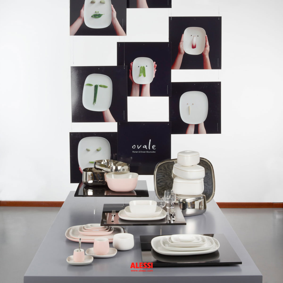 ovale dinner plate by alessi in the shop - ovale collection by alessi