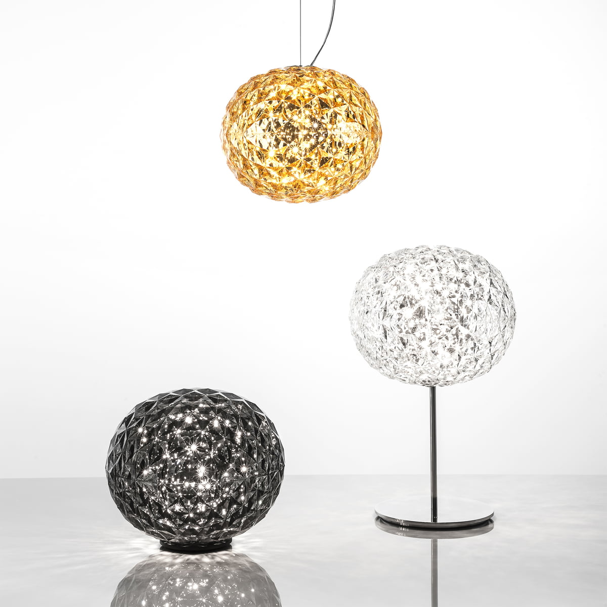 Planet led pendant lamp from kartell in the shop - Lampe de chevet kartell ...