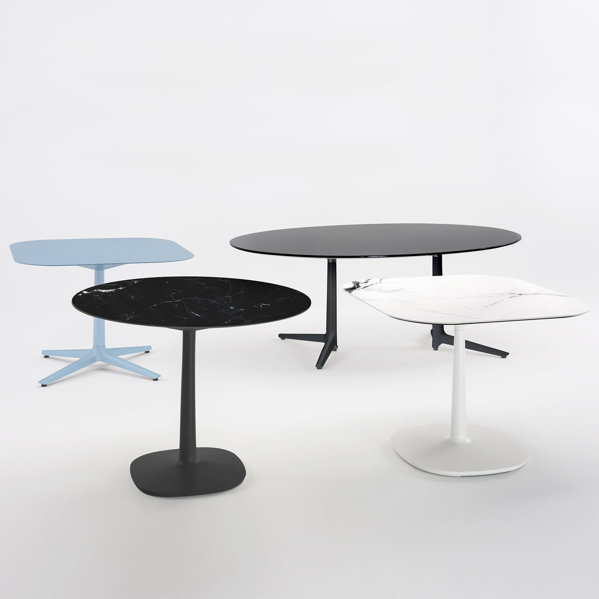 Kartell Round Table Multiplo Dining Table By Kartell In The Shop