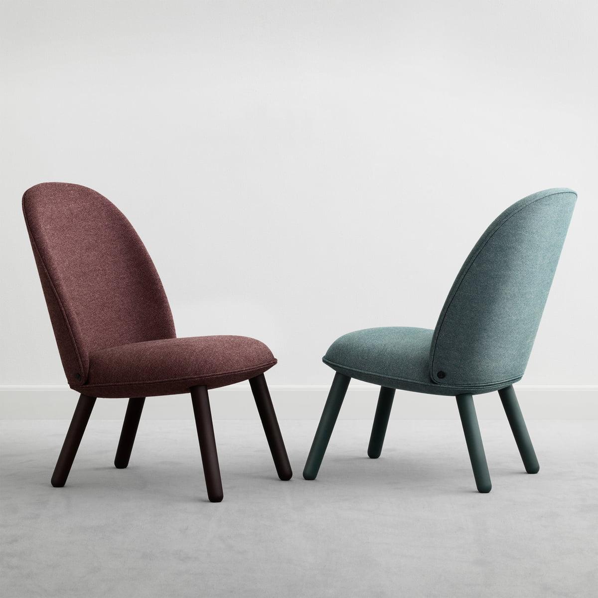 ace lounge chair nist from normann copenhagen. Black Bedroom Furniture Sets. Home Design Ideas