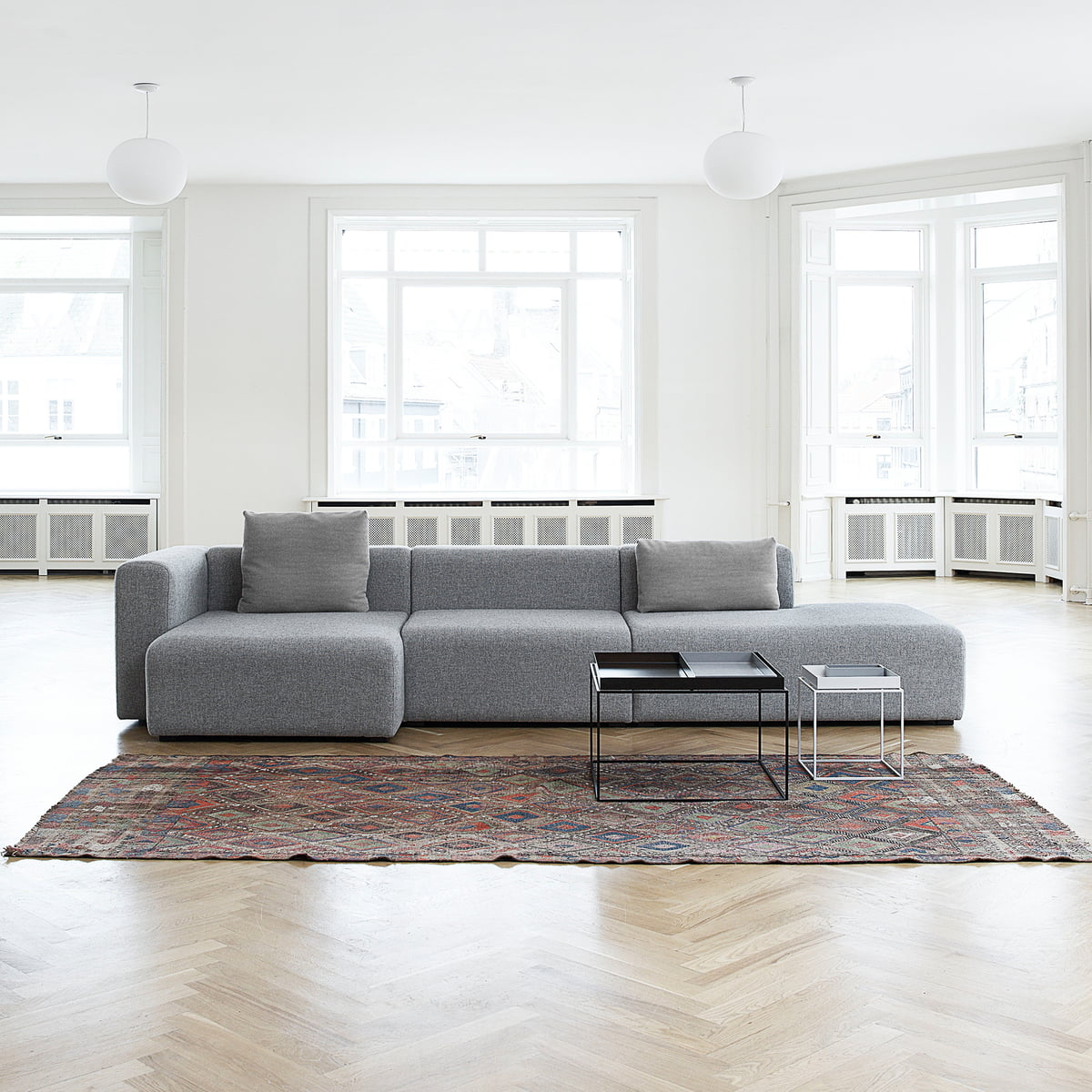 Mags sofa modules wide by hay for Wide couches