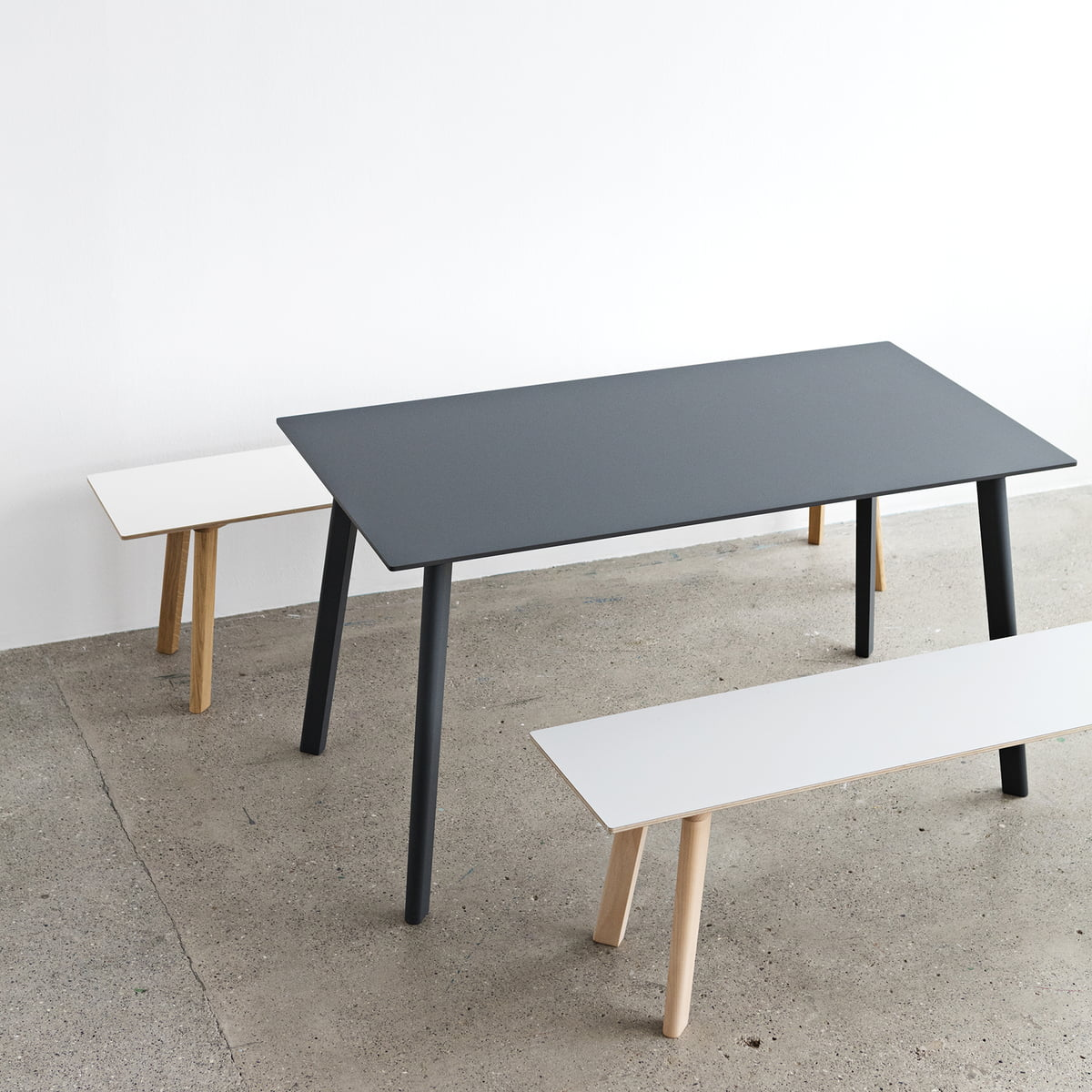 copenhague deux 210 table by hay in the shop. Black Bedroom Furniture Sets. Home Design Ideas