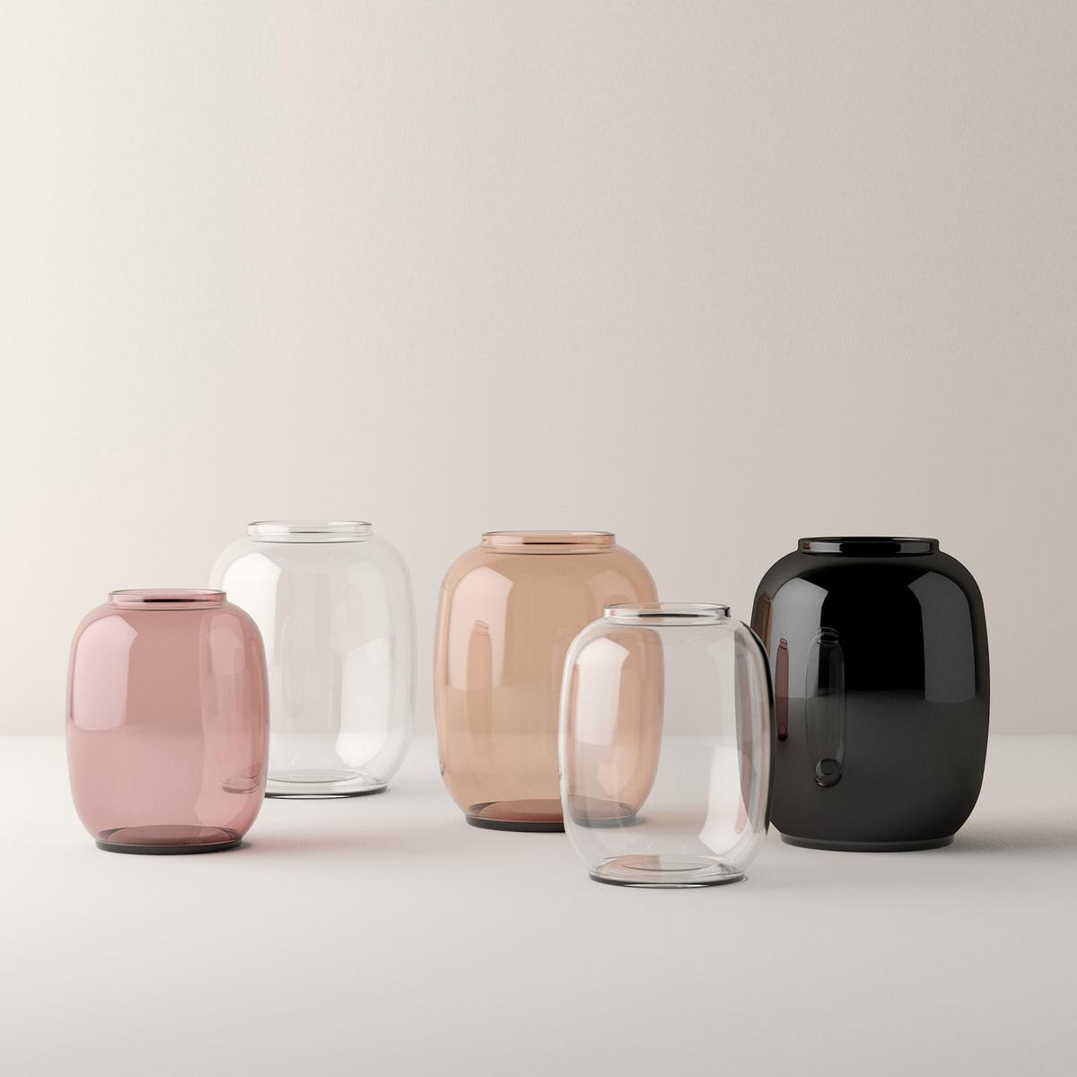 form vase transparent 70 by lyngby porcel n. Black Bedroom Furniture Sets. Home Design Ideas