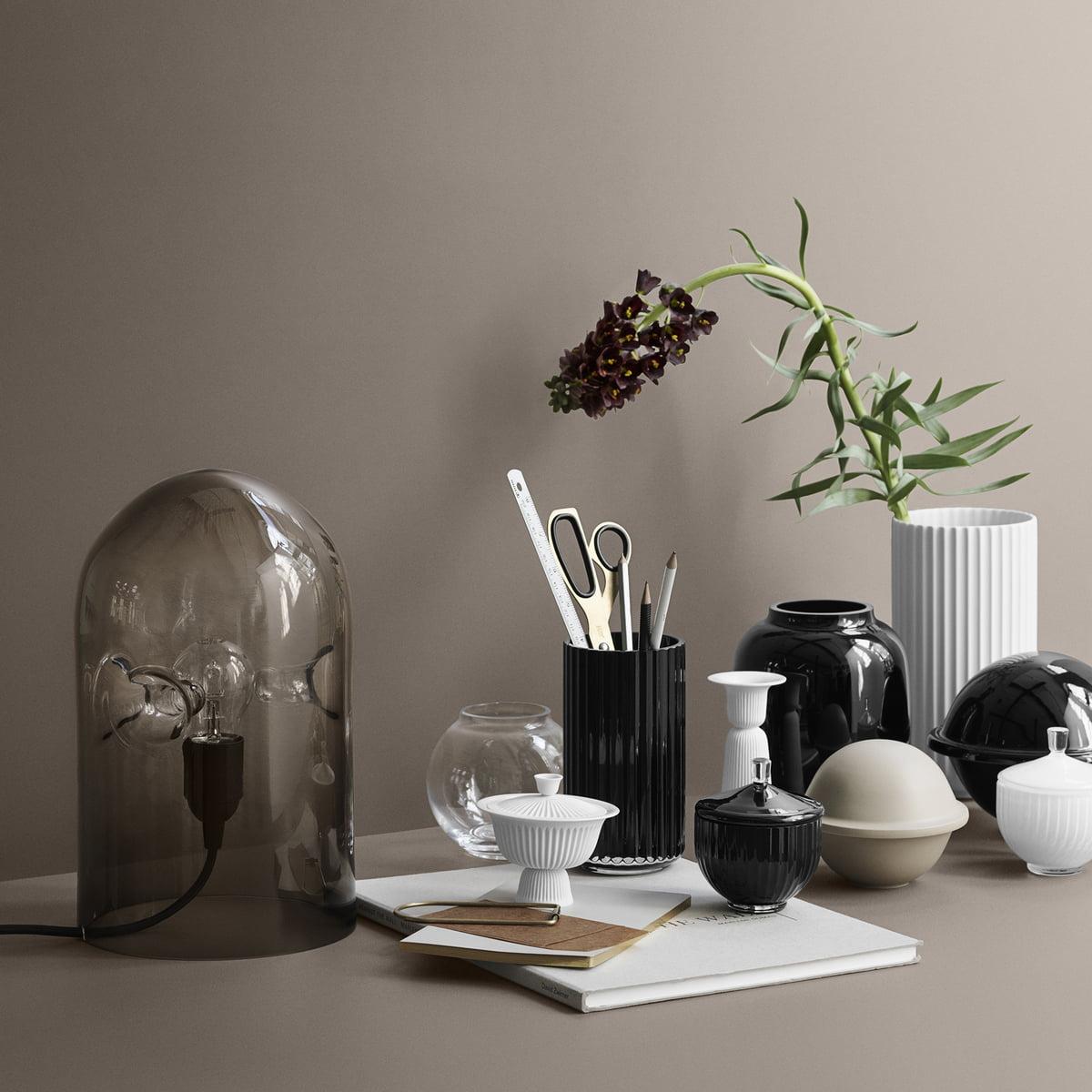 form vase transparent 140 by lyngby porcel n. Black Bedroom Furniture Sets. Home Design Ideas