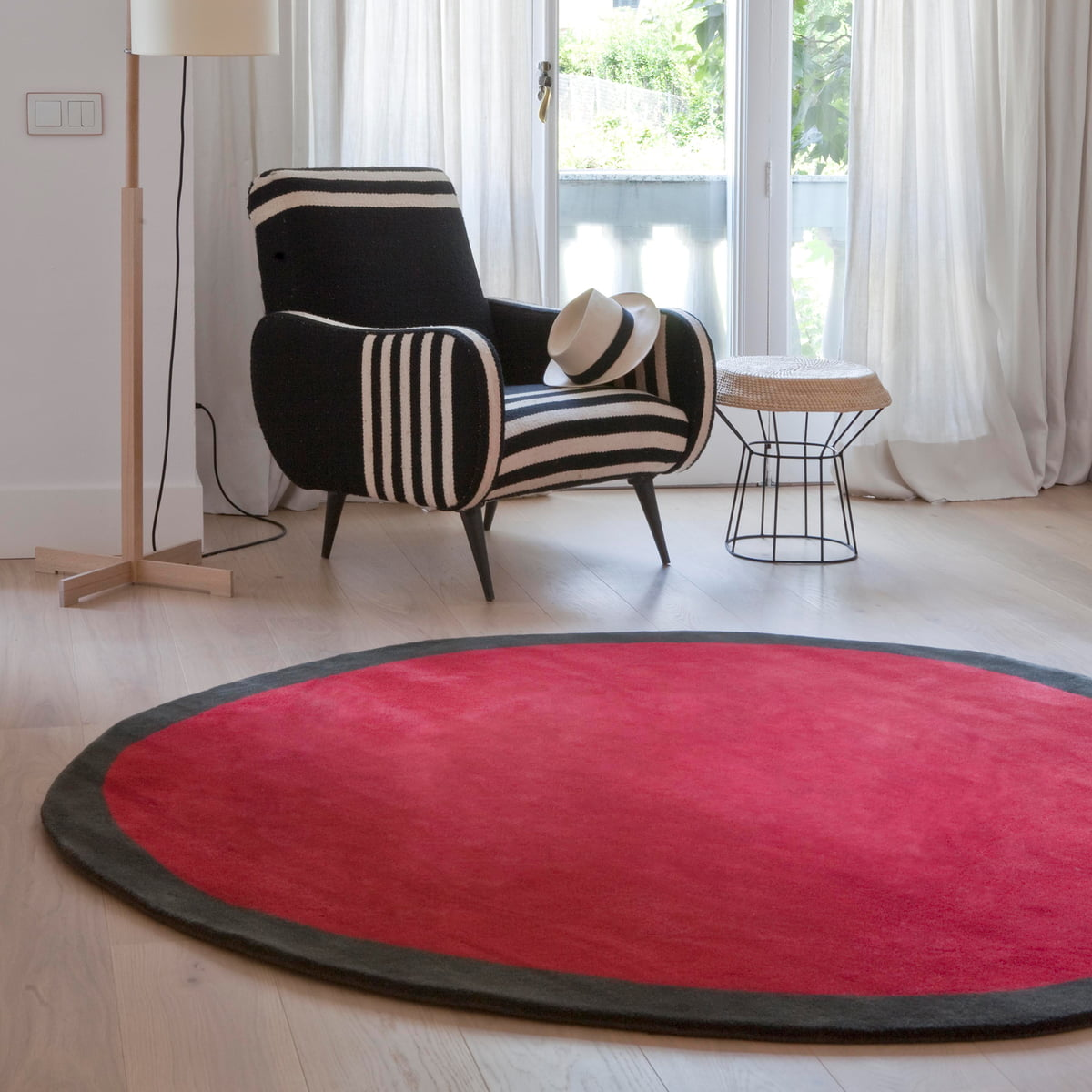 the aros rug by nanimarquina in the shop - nanimarquina  aros round  Ø  cm