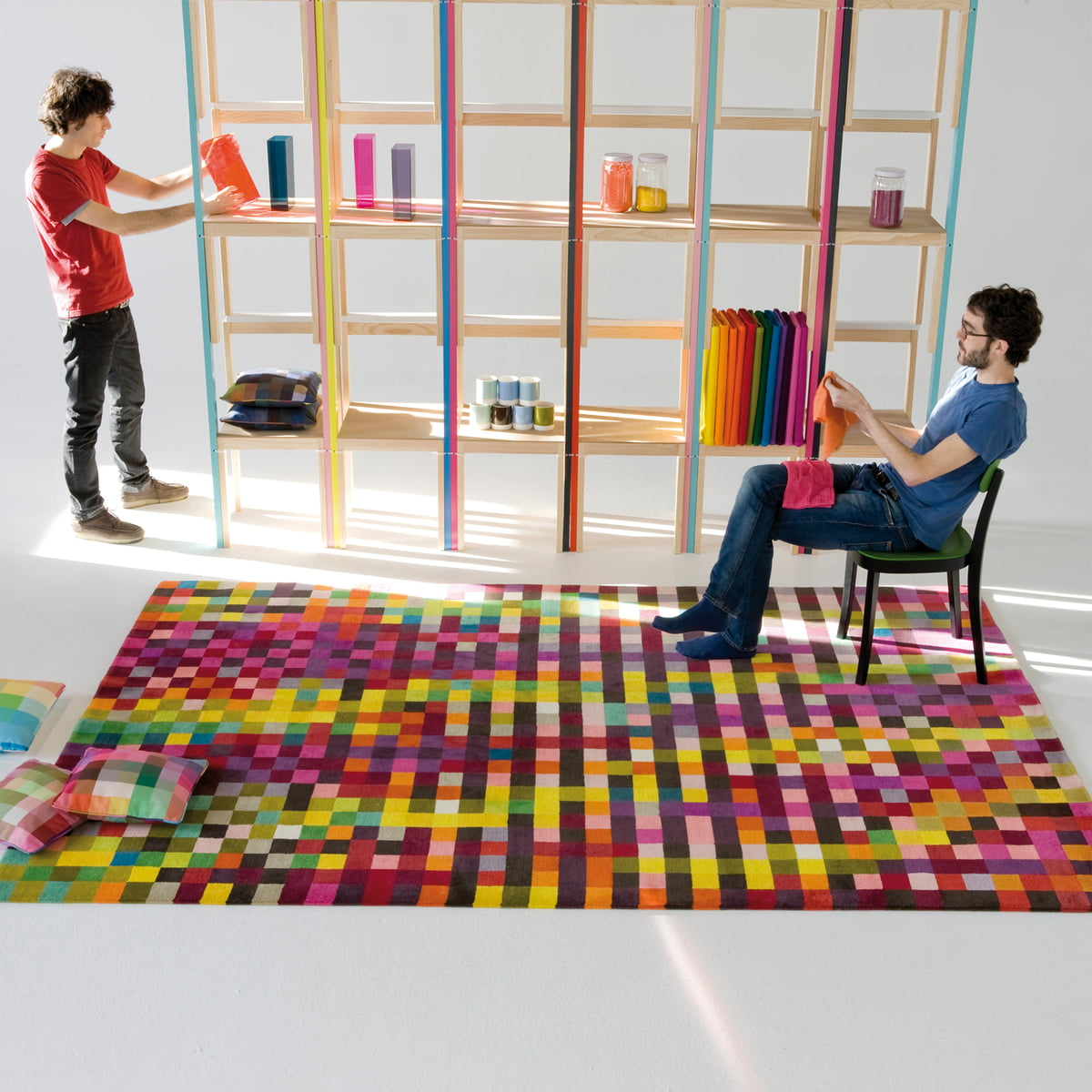 digit rug by