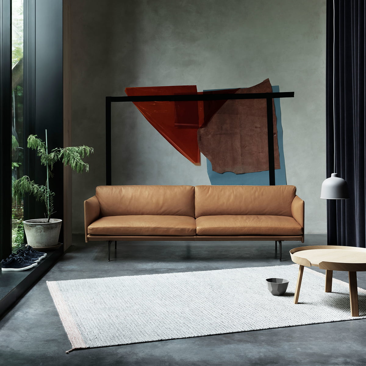Outline Sofa 2 Seater By Muuto