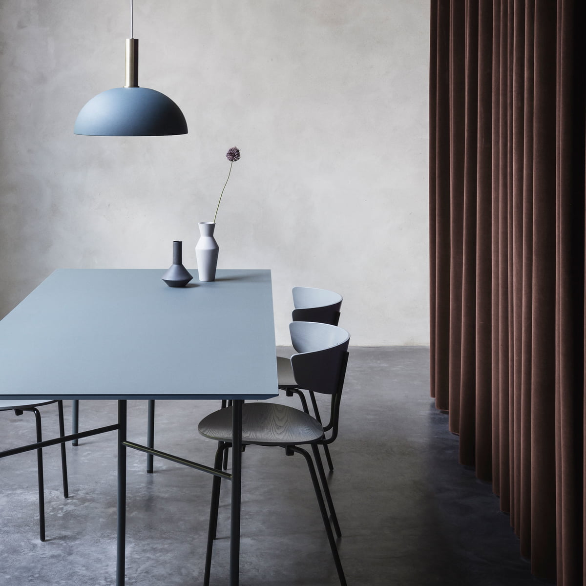 mingle table top linoleum by ferm living. Black Bedroom Furniture Sets. Home Design Ideas