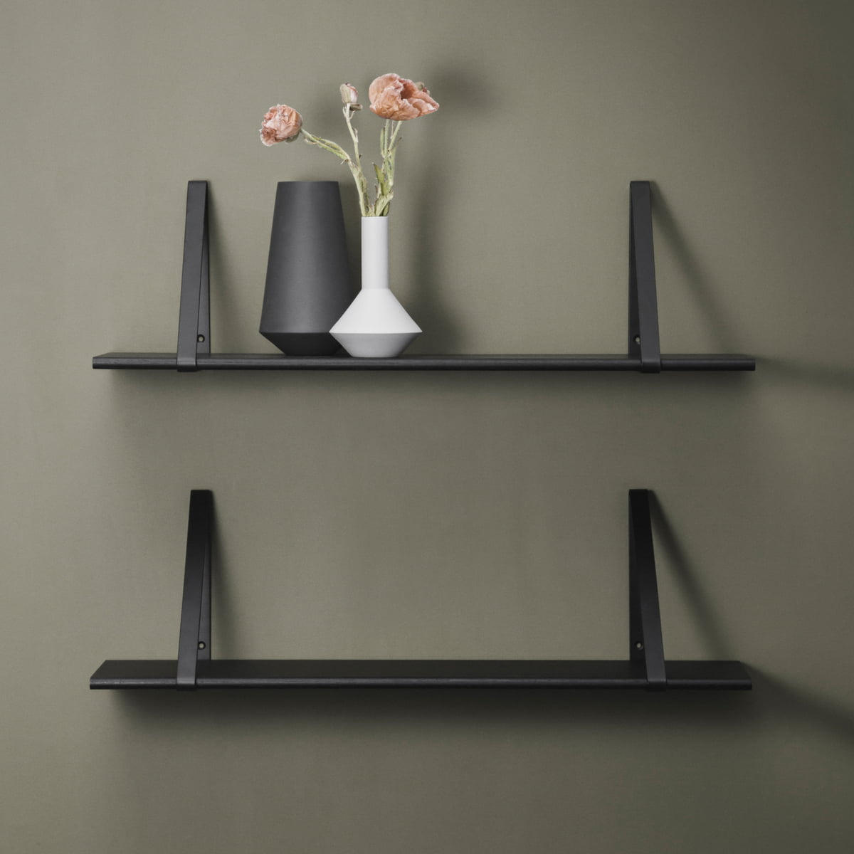 shelf hangers by ferm living. Black Bedroom Furniture Sets. Home Design Ideas