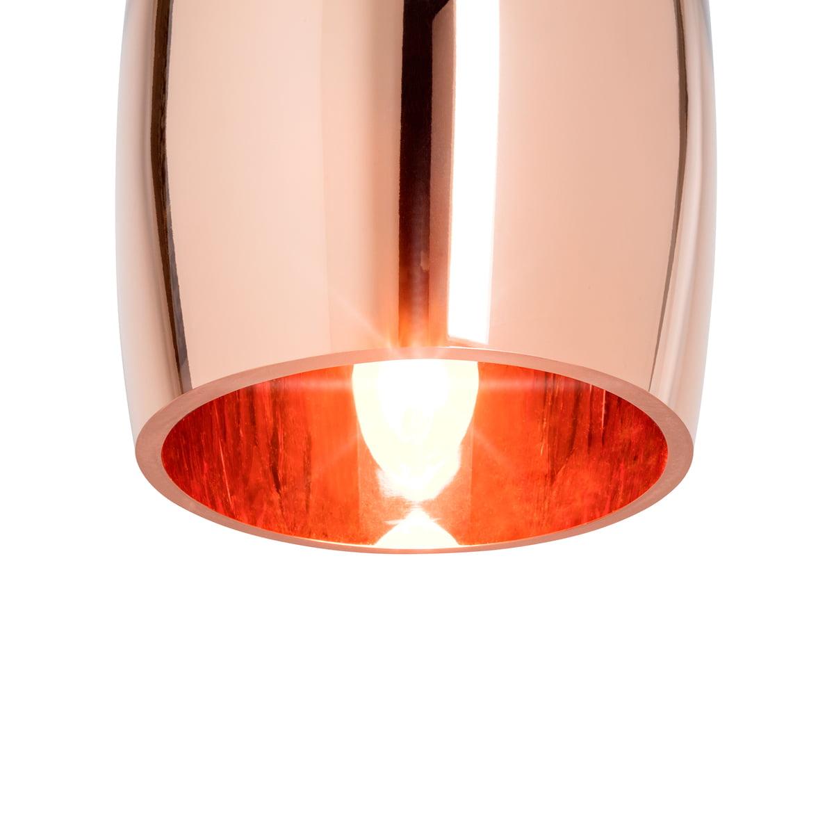 copper tall pendant lamp by tom dixon. Black Bedroom Furniture Sets. Home Design Ideas