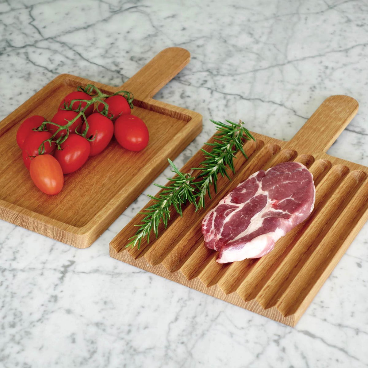 Cutting Board With Meat