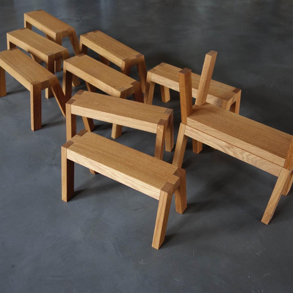 stool kleiner bruder by auerberg connox. Black Bedroom Furniture Sets. Home Design Ideas