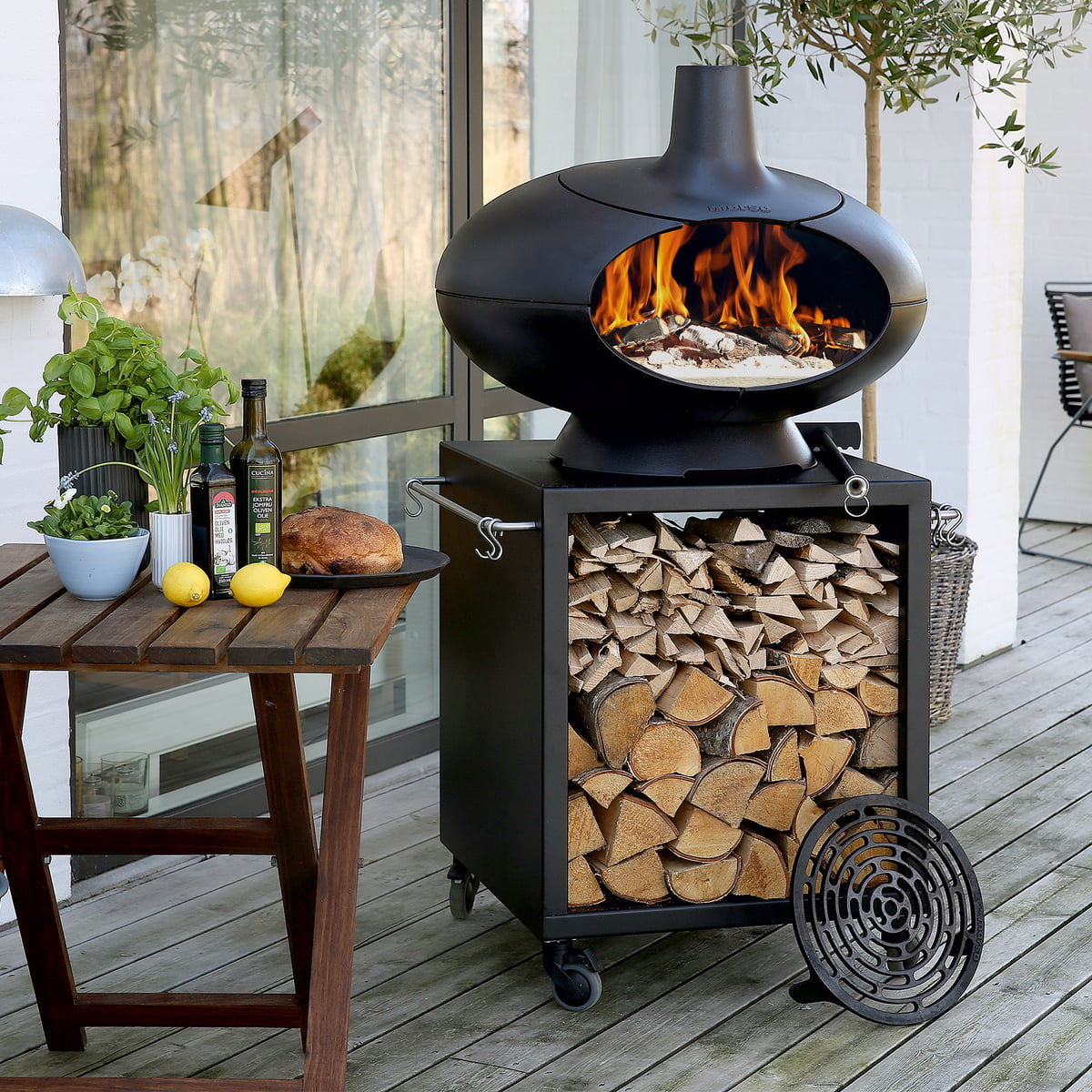 Forno grill oven from mors connox shop - Best outdoor barbecue grill ...