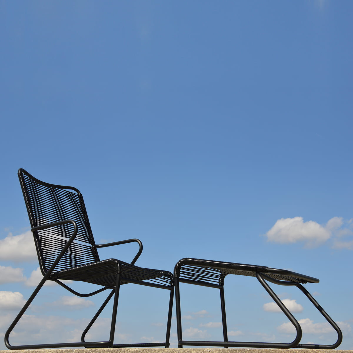 lido foot stool by fiam connox shop. Black Bedroom Furniture Sets. Home Design Ideas