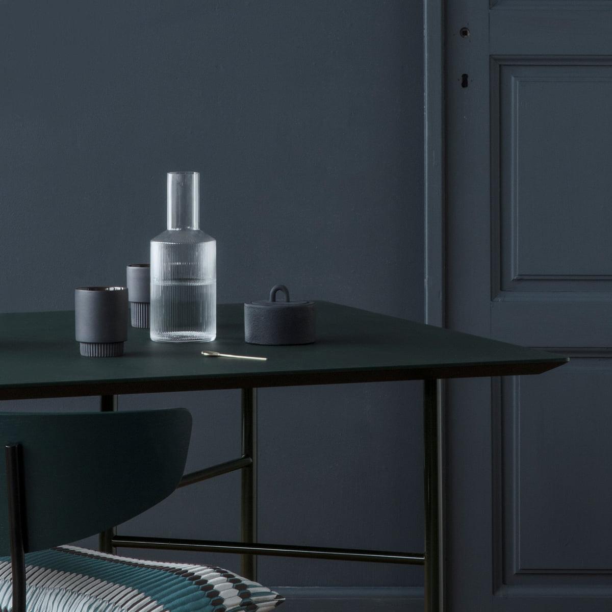 buckle jar by ferm living. Black Bedroom Furniture Sets. Home Design Ideas