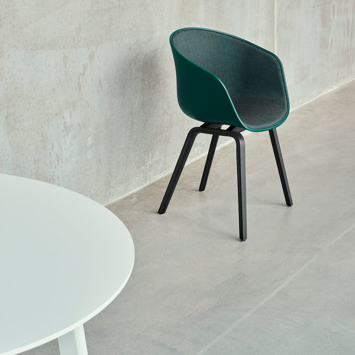 Fusion Living Smoke Grey Ghost Style Kunststoff Louis Sessel
