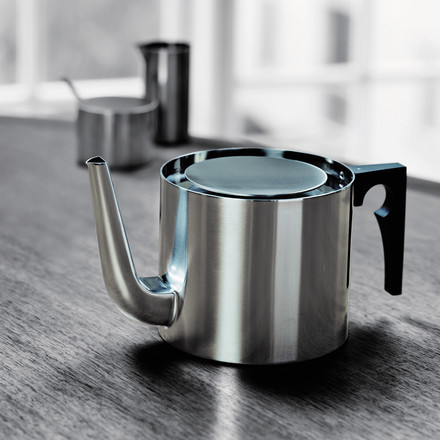 Stelton - Cylinda Line tea pot, 1.25 l, stainless steel