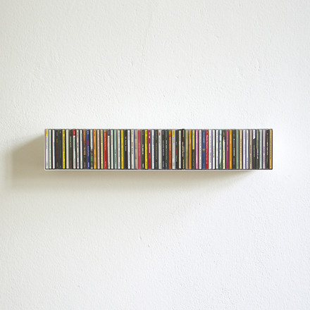 linea1 b _ CD-shelf in white