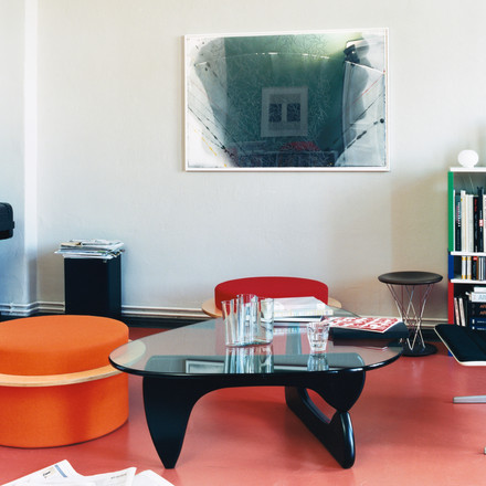 The Coffee Table by Vitra in a modern living room
