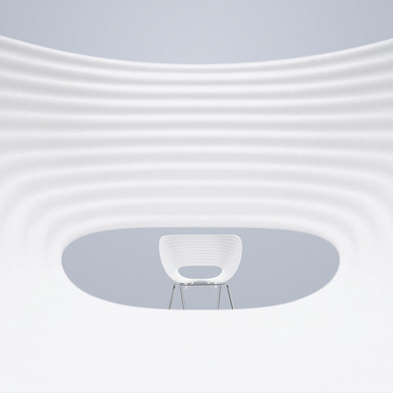 Vitra - Tom Vac Chair, details image