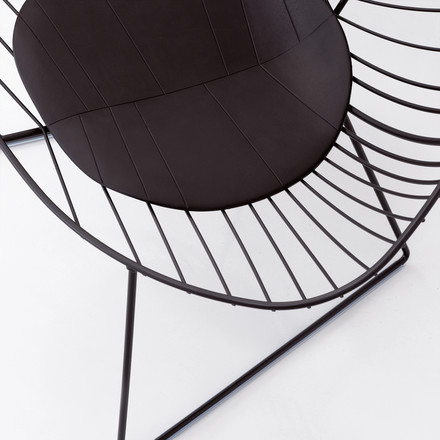 Arper Leaf Lounge-Sessel - Detail