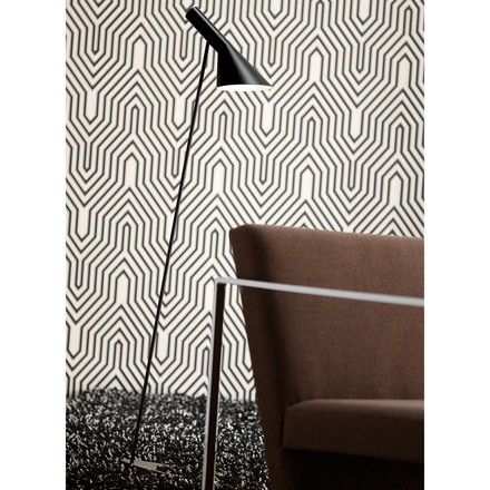 Arne Jacobsen Floor Lamp as a reading light
