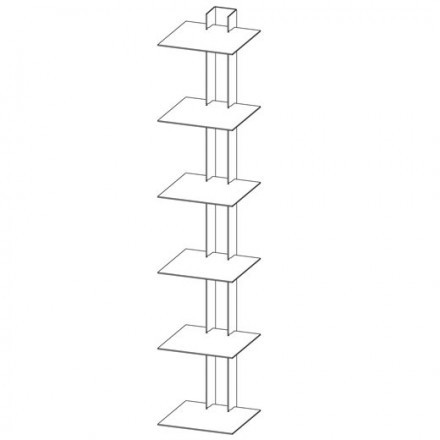 Assembly instructions of the Book Tower by Haseform