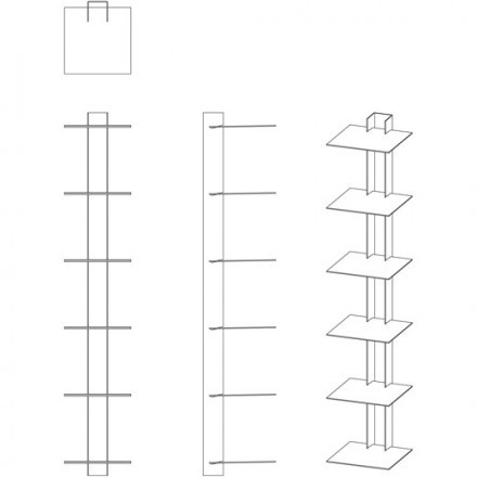 Assembly instructions for the Book Tower