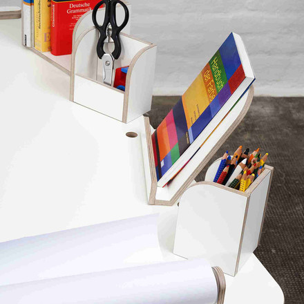 Growing Table - Book Board, Book Holder, Pen Box, Paper Holder