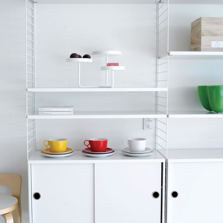 String Shelf System, white