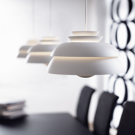 3 times stylishly illuminated by the Lightyears Concert Pendant Lamp